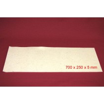 Feuille de Feutre Blanc en 5 mm (700x250)