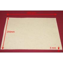 Feuille de Feutre Blanc en 5 mm (350x250)
