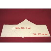 Feuille de Feutre Blanc en 4 mm (700x250)